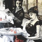 """""""Aperitivo"""", óleo sobre lienzo, 130x97 cm, (2011)"""